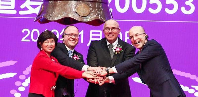 מימין: חן ליכטנשטיין, אבירם להב, ווין רודולף, קארן יאנג / צילום: אדמה