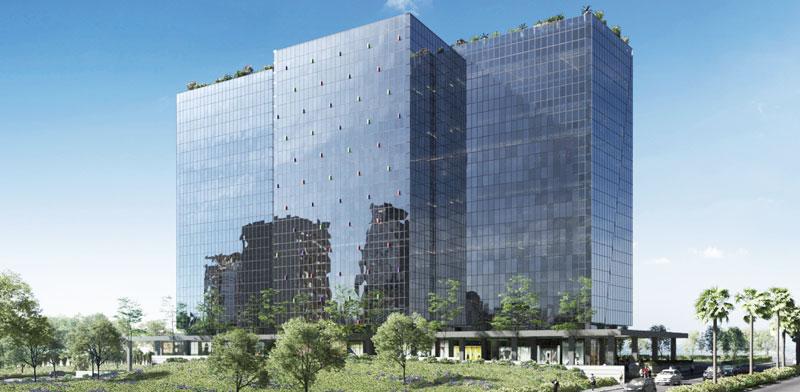 הדמיית הבניין ברעננה / צילום: פלג אדריכלים