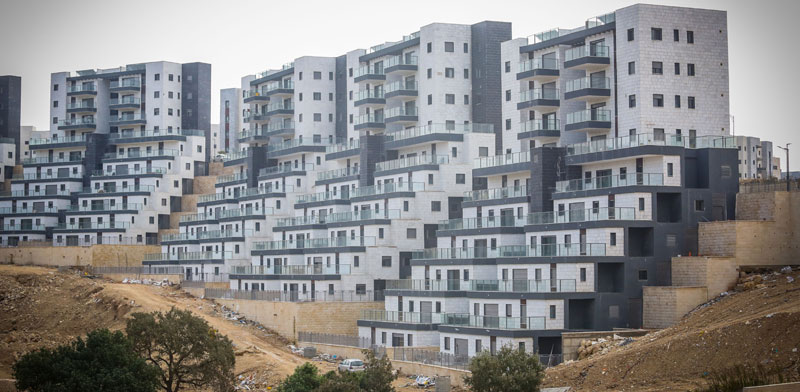 New homes in Harish Photo: Shlomi Yosef
