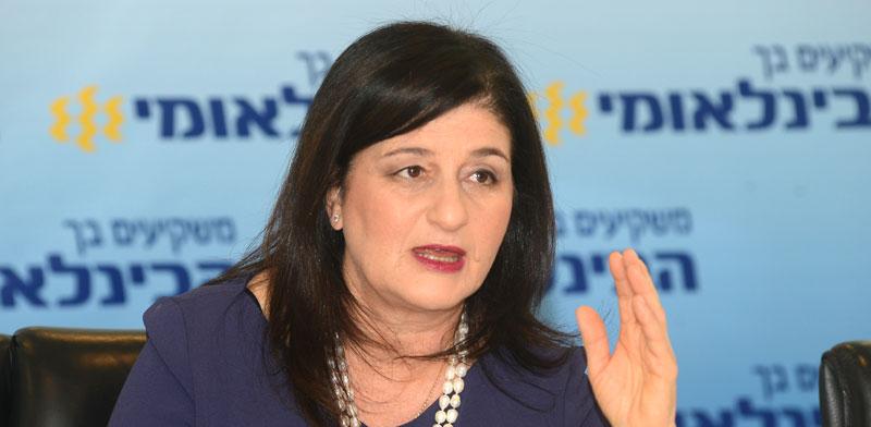 """מנכ""""לית הבנק הבינלאומי, סמדר ברבר-צדיק /צילום: איל יצהר"""