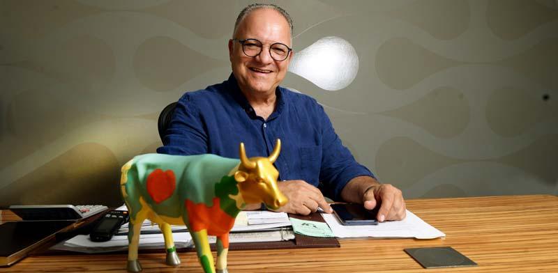 עזרא כהן, מייסד מחלבות גד / צילום: איל יצהר