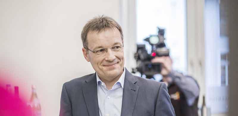 """וורנר אברהרדט, ראש תחום הבריאות הדיגיטלית ב-SAP / צילום: יח""""צ"""
