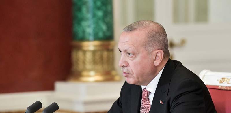 נשיא טורקיה ארדואן / צילום: רויטרס, Alexei Nikolsky