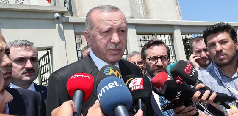 נשיא טורקיה, רג'יפ טאיפ ארדואן / צילום: רויטרס