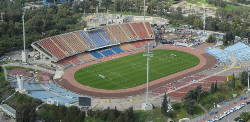 איצטדיון כדורגל רמת גן / צילום: איל יצהר
