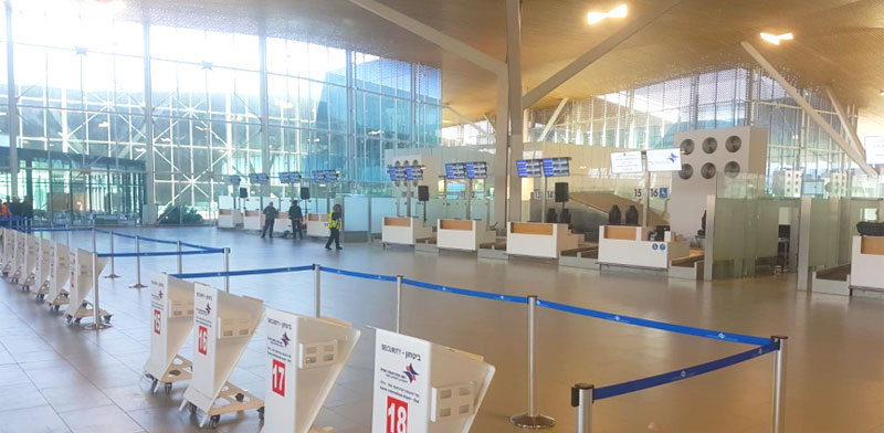 Ramon Airport Eilat  photo: Eyal Izhar
