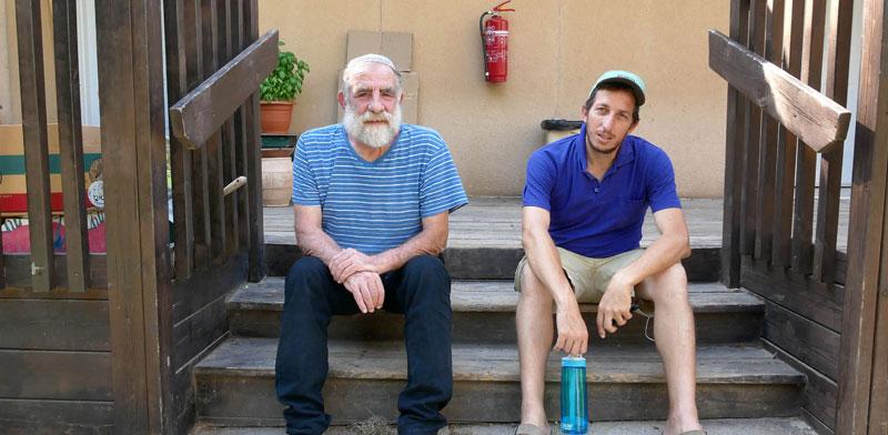אלנתן גולום ואלון טיגר בחפץ חיים / צילום: תמר מצפי, גלובס