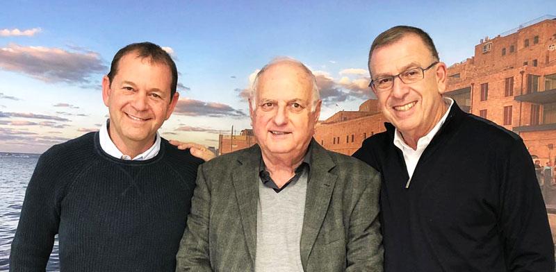 """עפר חודורוב, דב שריד ואורי סירקיס / צילום: יח""""צ"""