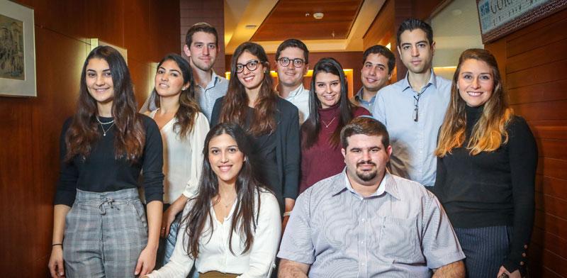 מתמחים חדשים במשרד גורניצקי / צילום: שלומי יוסף