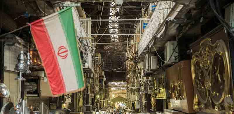 שוק בטהרן / צילום: רויטרס, Nazanin Tabatabaee Yazdi