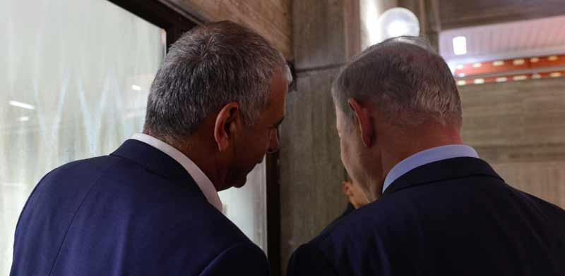 """ראש הממשלה בנימין נתניהו ושר האוצר משה כחלון / צילום: קובי גדעון, לע""""מ"""