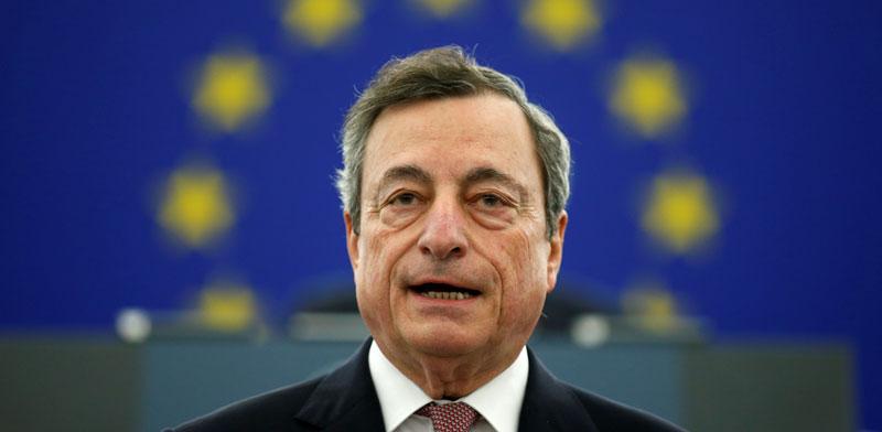 נגיד ה־ECB, מריו דראגי / צילום: רויטרס