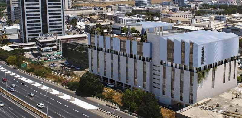 """המרכז  של WEWORK שצפוי לקום/ צילום הדמיה: אמפא נדל""""ן"""