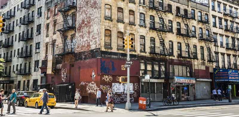 בנייני מגורים בשכירות בניו יורק. / צילום:  Shutterstock/ א.ס.א.פ קריאייטיב