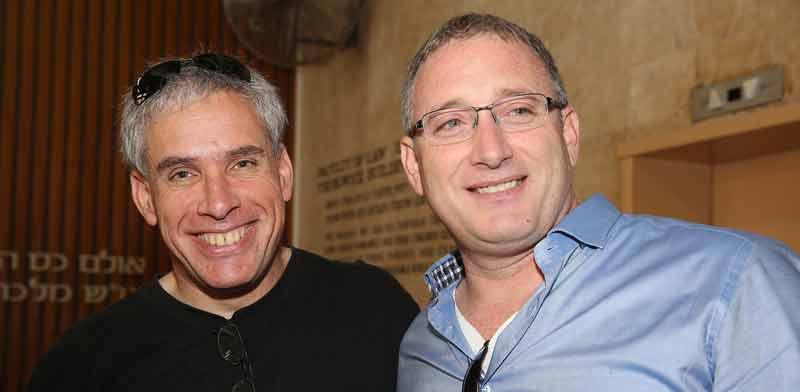 נועם ברדין ואורי לוין, ממייסדי וויז / צילום: קובי קנטור