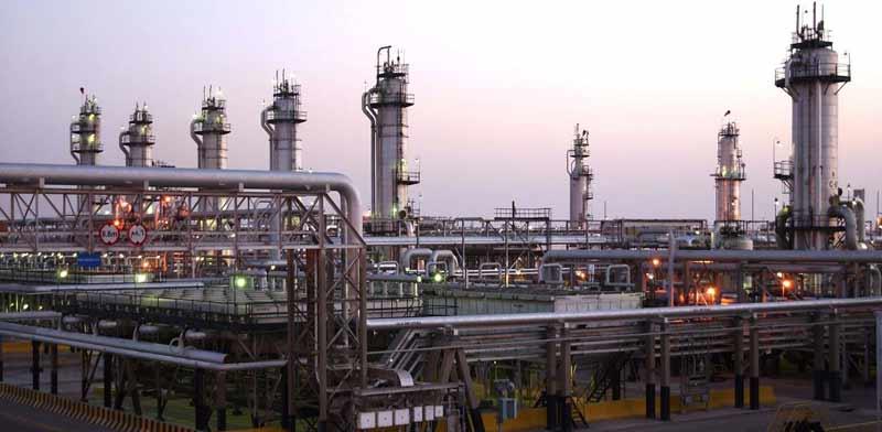 מתקני נפט באבקאיק לפני ההתקפה / צילום: רויטרס