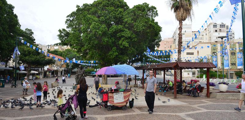 כיכר אורדע, רמת גן./ צילום: תמר מצפי
