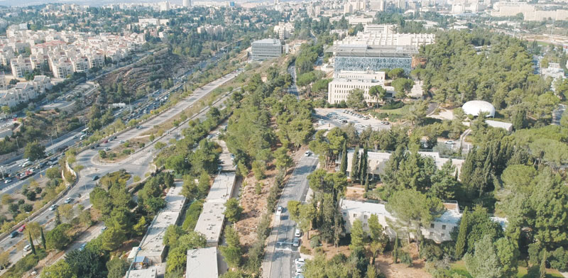 Hebrew University Givat Ram campus Photo: PR