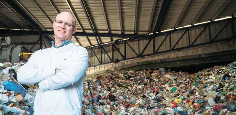 """רני איידלר, מנכ""""ל תאגיד המיחזור תמיר / צילום: מתן פורטנוי"""