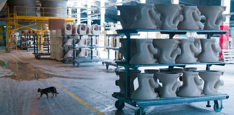 מפעל חרסה / צילום: רפי קוץ
