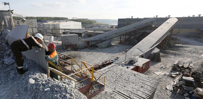 מכרה זהב בסיביר/   צילום: רויטרס, Ilya Naymushin