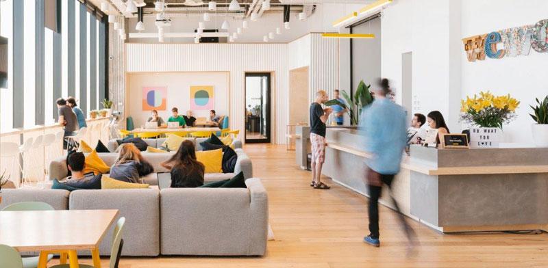 """משרדי WeWork במידטאון, ת""""א / צילום:  Eyal Marilus for WeWork"""