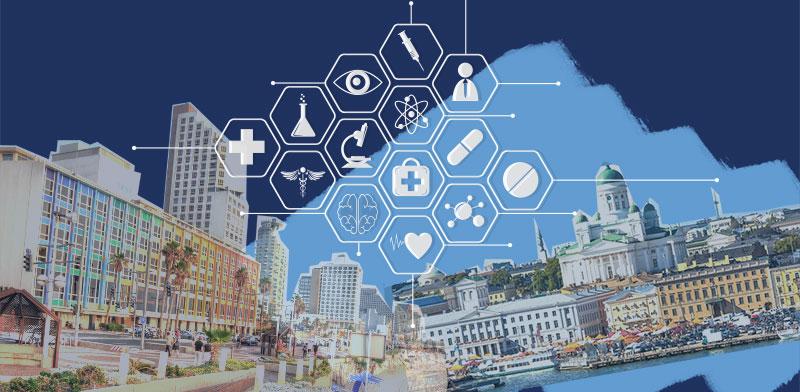 שיתוף פעולה פינלנדי ישראלי בתחום הרפואה הדיגיטלית / תמונות: shutterstock, עיבוד: טלי בוגדנובסקי