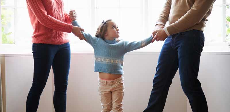 מאבק על משמורת ילדים / צילום: Shutterstock, א.ס.א.פ קריאייטיב