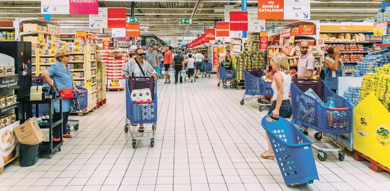 סניף של רשת הסופרמרקטים הצרפתית קארפור  /צילום:  Shutterstock א.ס.א.פ קרייטיב