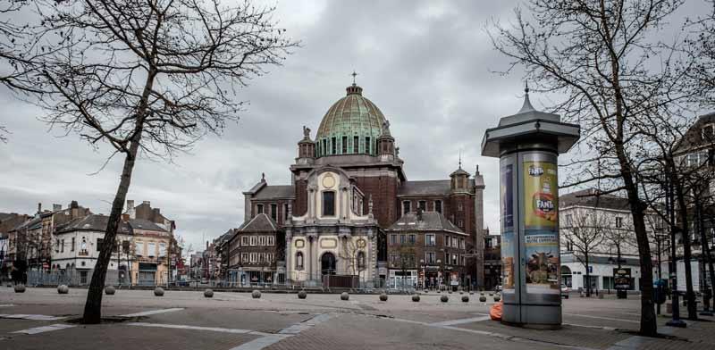 מרכז העיר שרלרואה/צילום:  Shutterstock | א.ס.א.פ קריאייטיב