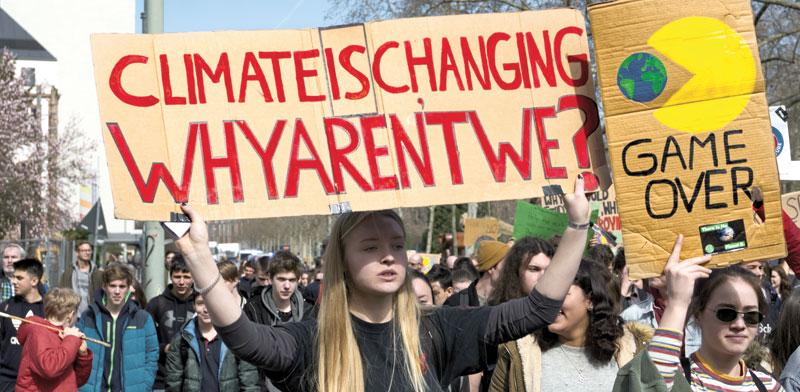 מצעד האקלים השבוע בפרנקפורט, / צילום: Shutterstock