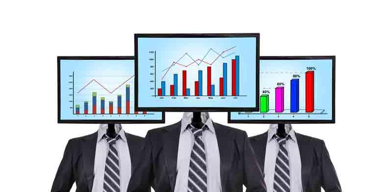 מנהל השקעות, מחשב / צילום: Shutterstock, א.ס.א.פ קריאייטיב