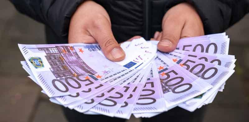 שטרות 500 אירו / צילום:  Shutterstock/ א.ס.א.פ קריאייטיב