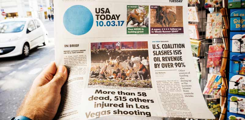 """USA Today "" / צילום: shutterstock, אס.איי.פי קריאייטיב"