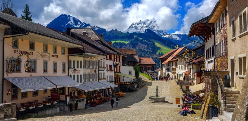 העיירה גרוייר/ צילום: Shutterstock | א.ס.א.פ קריאייטיב