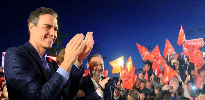 פדרו סנצ'ס, מנהיג המפלגה הסוציאל-דמוקרטית וראש ממשלת ספרד / צילום: רוטרס, Heino Kalis