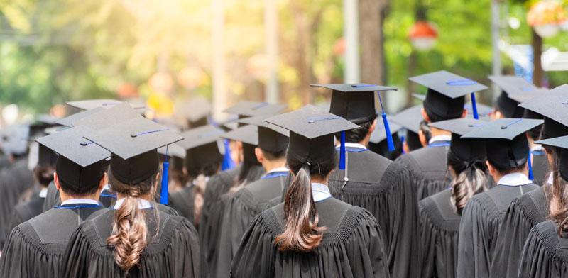 סטודנטים מסיימים תואר / צילום:  Shutterstock/ א.ס.א.פ קריאייטיב