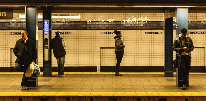 הרכבת התחתית בניו יורק / Shutterstock/ א.ס.א.פ קריאייטיב