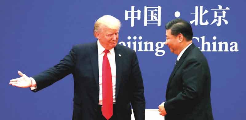 הנשיא טראמפ והנשיא שי/ צילום: רויטרס, Jonathan Ernst