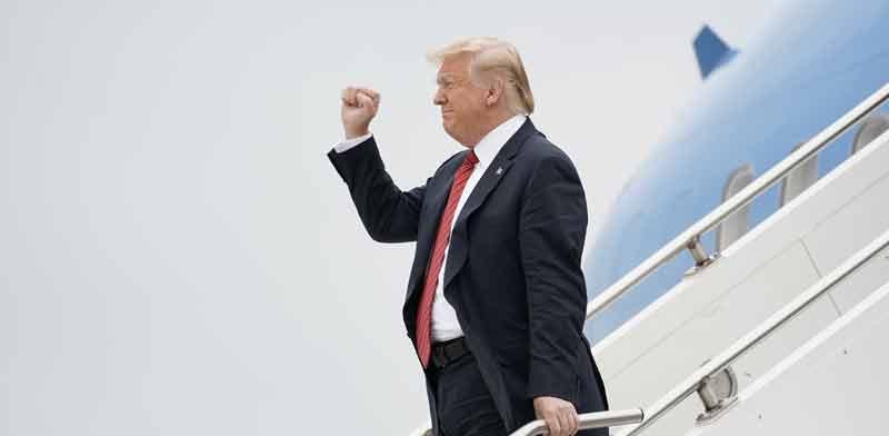 """נשיא ארה""""ב דונלד טראמפ / צילום: רויטרס, Kevin Lamarque"""