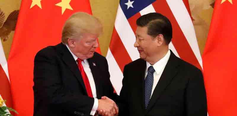 הנשיא טראמפ והנשיא שי / צילום: רויטרס, Jonathan Ernst