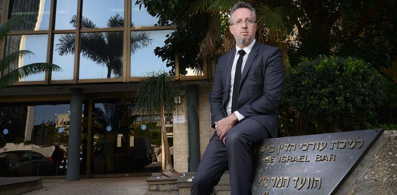 """עו""""ד אורי קינן, מ""""מ ראש לשכת עורכי הדין / צילום: איל יצהר"""