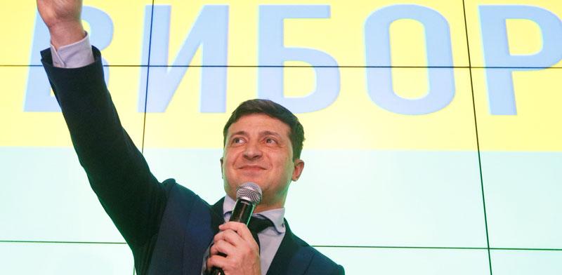 וולודימיר זלנסקי./ צילום: רויטרסValentyn Ogirenko