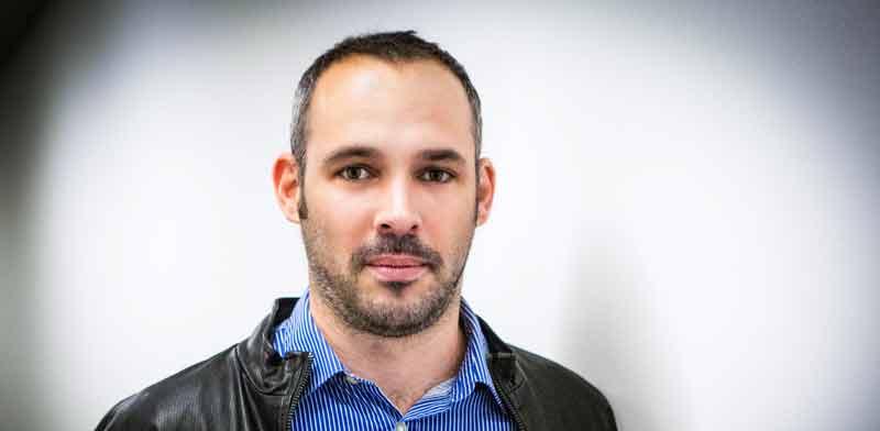 """יו""""ר ארגון העיתונאים, יאיר טרצ'יצקי / צילום: שלומי יוסף"""