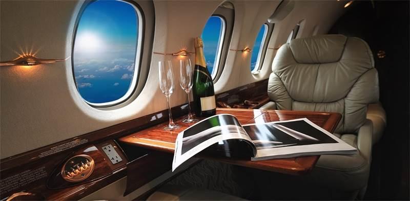 """טיסה פרטית של קאווה גרופ / צילום:  קאווה גרופ, יח""""צ"""