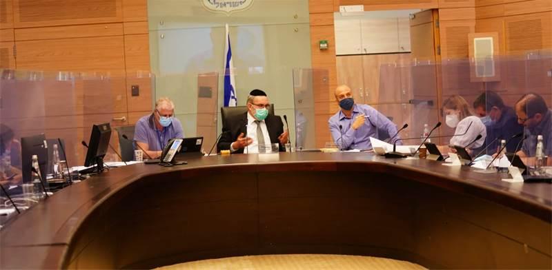 """דיון בוועדת החוקה / צילום: דוברות הכנסת, יח""""צ"""