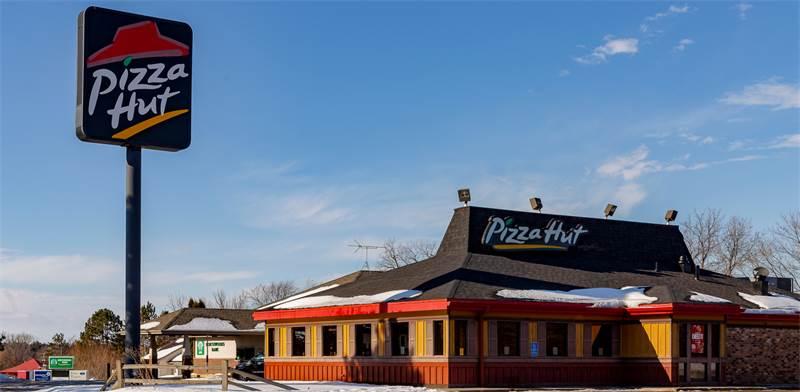 """סניף של פיצה האט בארה""""ב / צילום: שאטרסטוק"""
