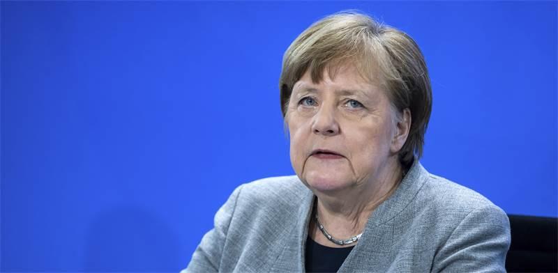 קאנצלרית גרמניה אנגלה מרקל / צילום: Bernd von Jutrczenka/Pool, AP