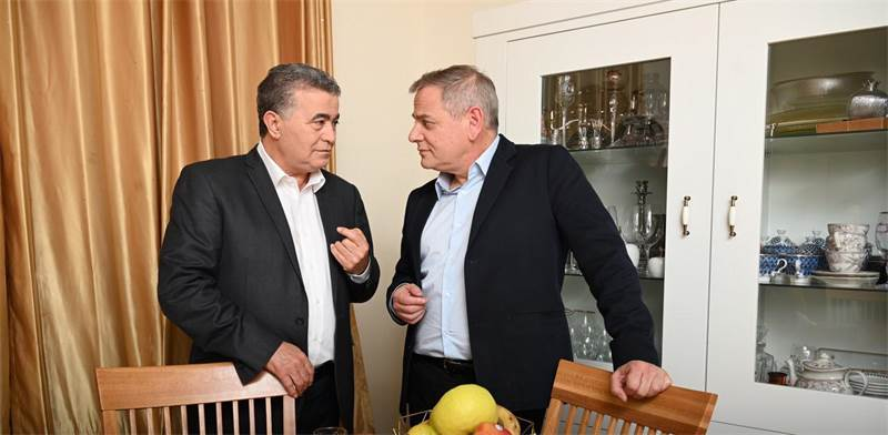 Amir Peretz and Nitzan Horowitz / Photo: PR