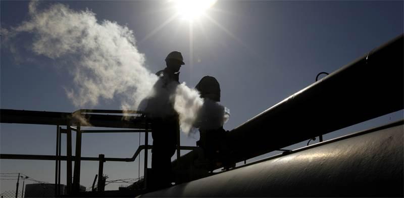 הפקת נפט בלוב / צילום: AP Photo, AP